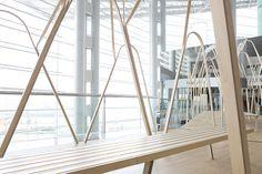 ESKYIU designs ephemera arcade for swire properties at art basel hong kong
