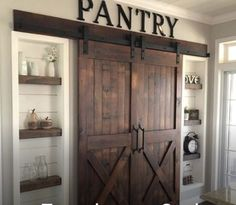 39 Mind-blowing Kitchen Pantry Design Ideas for Your Inspiration ⋆ aviatech.xyz 39 Mind-blowing Kitchen Pantry Design Ideas for Your Inspiration ⋆ aviatech. Kitchen Pantry Design, Home Decor Kitchen, Farm Kitchen Ideas, Barn Kitchen, Kitchen Reno, Kitchen Organization, Kitchen Remodelling, Decorating Kitchen, Kitchen Sinks