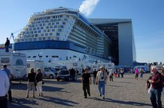Celebrity Reflection - Floating out - August 12th 2012 - reflection057 - Cruise Ships from Papenburg / Germany#top_display_media