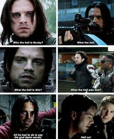 I think we're seeing a trend here, don't you. That's the Bucky Barnes sparkling through the assassin.