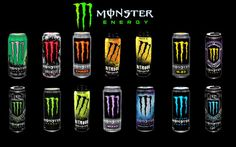 Logo Monster Energy Drink