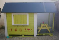 CABANE ENFANTS Instructions de montage Do-it-yourself
