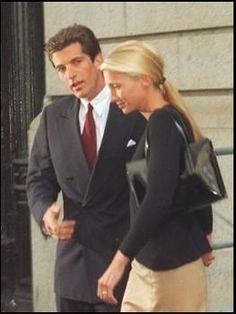 Carolyn Bessette-Kennedy - John F. Kennedy, Jr. and Carolyn Bessette