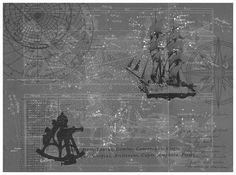 ralph lauren nautical mural - Google Search