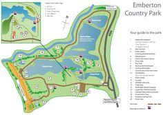 Emberton Park followed by Ollney for coffee
