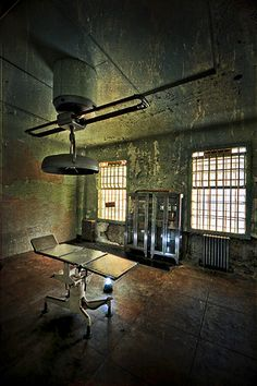 the doctor will see you now...Alcatraz Island, San Francisco