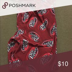 Dr. Pepper men's pajama pants These are technically men's pants but cab be worn by anyone. They have been worn quite a bit and are priced accordingly. Pants Sweatpants & Joggers