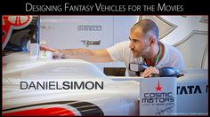 CreativeCOW presents Daniel Simon: Designing Fantasy Vehicles for the Movies -- Autodesk 3ds Max Editorial