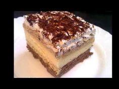 Pudingové rezy - recept na 3bit zakusok - VIDEO Ako sa to robí.sk