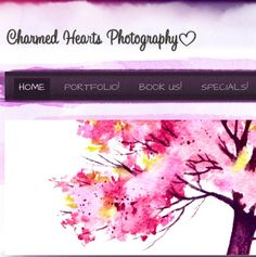 Our website  www.charmedheartsphotography.com