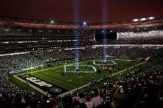 MetLife Stadium, home of the NY JETS football team. A memorial to 9/11