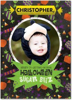 Sugar Buzz - Halloween Cards from Treat.com #trickorTREAT