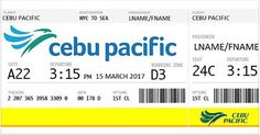 Circulating Facebook post claims that you can click to get two free air tickets to fly anywhere courtesy of the Philippines based airline Cebu Pacific. #Facebook #scam