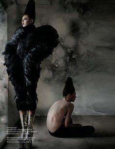 Alexander McQueen fashion editorial