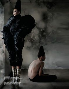 #Alexander McQueen fashion editorial