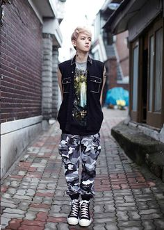 EXO Growl Baekhyun