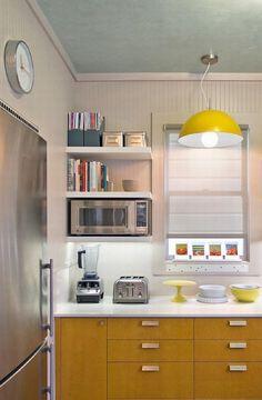 Você pode não gostar de cozinhar, mas sabe que passará boa parte da sua vida na cozinha, principalmente se você mora sozinho. E se seu espaço é restrito, c