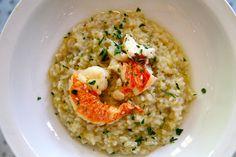 Après Fête: lobster risotto  www.apresfete.blogspot.com