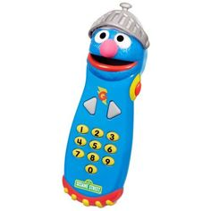 Sesame Street Super Grover Remote by Playskool. $10.99. Remote comes with instructions. Now preschoolers can control the fun with a remote control of their very own. Grover?s visor raises and lowers with the push of a button. Featuring Super Grover, the Remote comes with working number buttons, sound effects and speech. From the Manufacturer                Now preschoolers can control the fun with a remote control of their very own! Featuring Super Grover, the R...