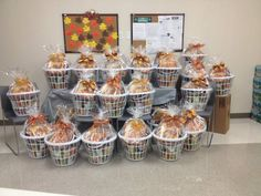 Florida Peninsula Gives Back team prepared 27 baskets filled with everything needed for a complete Thanksgiving meal. Boca Helping Hands will provide the turkeys and deliver these baskets to needy families in our community.