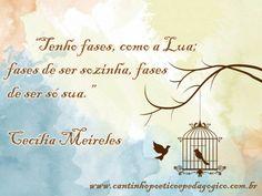 Frases - Cecília Meireles