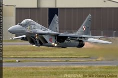 This MiG-29 from the Polish Air Force at RIAT 2015 showed the true capabilities of what NATO called the Fulcrum. The takeoff alone is something…