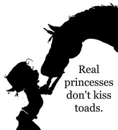 they kiss horses ♥  for my horse lovin' sister-in-law, nieces, cousins, and friends :)