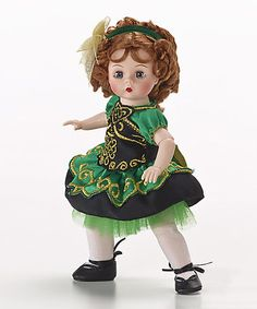Look at this #zulilyfind! 8'' Irish Dancer Doll #zulilyfinds