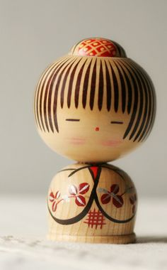 Sweet little vintage Kokeshi #tw
