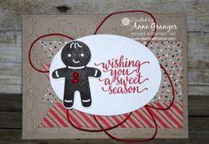 Fancy Fold: Peekaboo Hidden Message Card blog hop, using  Stampin' Up! Cookie Cutter Christmas stamp set