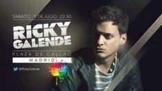 Ricky Galende en las fiestas del orgullo gay en Madrid