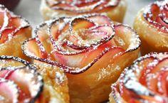 Rose dessert pomme, cuisine