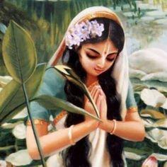 In veneration Of Lord Krishna