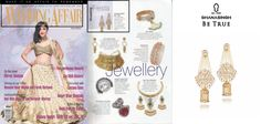 "Ghanasingh Be True Presents ""BEJEWEL LED ESCAPE"" Collection Got Featured in WEDDING AFFAIR MAGAZINE."