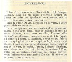 Enivrez-Vous (Get Drunk) - Charles Baudelaire More Than Words, Some Words, Words Quotes, Life Quotes, Sayings, Le Spleen De Paris, Quote Citation, French Quotes, French Poems