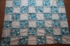 Frozen Olaf Rag Quilt $30.00 by CreatedbyBabs on Etsy