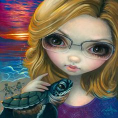 """""""Faces of Faery 237"""" by Jasmine Becket-Griffith"""
