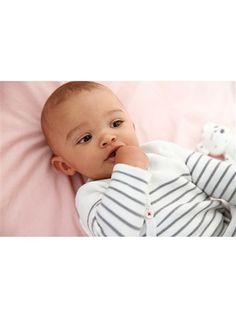 Macacão em tricot, Coleção Bio, para bebé primavera-verão 2015