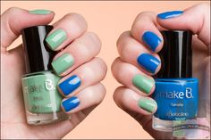 Make B. Miami Sunset O Boticário Ocean Drive blue Homa Manicure