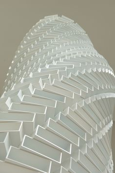 Shirazeh Houshiary White Shadow, 2005 Aluminium bricks and steel cable 405 x 66 x 47 cm / 159 3/8 x 26 x 18 1/2 in. | Lisson Gallery