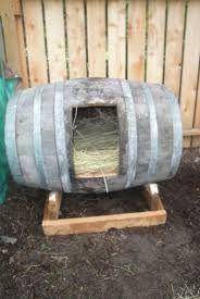 Image result for make hen house from whisky barrel