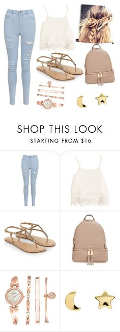 """Casual Day ♥"" by yanina-r-farfan ❤ liked on Polyvore featuring Miss Selfridge, Swell, Accessorize, MICHAEL Michael Kors, Anne Klein and Erica Weiner"