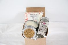 A personal favorite from my Etsy shop https://www.etsy.com/listing/255466669/spa-box-gift-set-party-favorschristmas