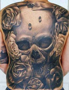 Skull Tattoo Galerie - Click the picture for more - #Tattoo # Idea