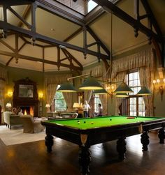 billiard room.