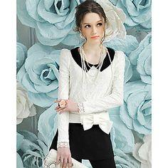 7c2fb78da9 vendimia cuello solapa de la camisa de las mujeres blusa – EUR € 16.16