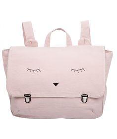 Emile et Ida Schoolbag reveur rose powder pink