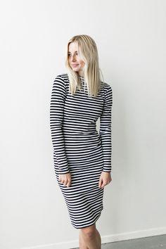 Molly Striped Bodycon