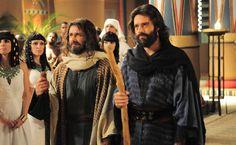 Moisés e Arão Os Dez Mandamento