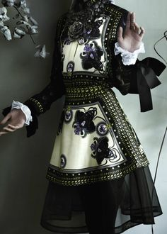 """""""Master Class"""" by Mario Testino featuring fashion by Givenchy for Vogue UK August 2011"""